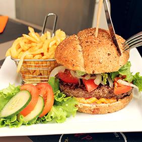 Burger classique / frites